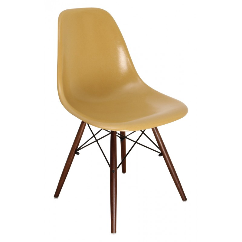 chaise-dsw-ochre-charles-ray-eames-années-70