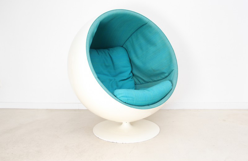 fauteuil-ball-chair-turquoise-eero-aarnio-années-60