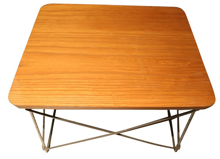 table-d-appoint-eames-occasional-table-ltr-édition-herman-miller-années-70