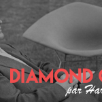 La Diamond chair d'Harry Bertoia