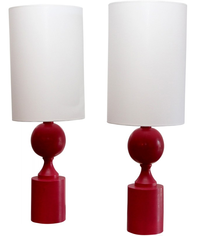 Lampes-rouge