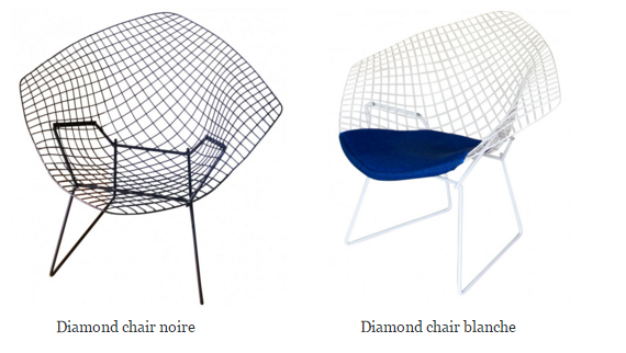 diamondchair-blanc-noir