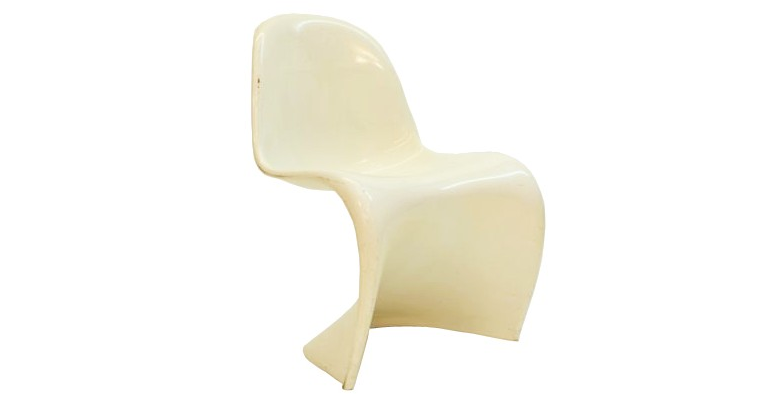 Chaise-Verner-Panton-blanche
