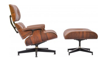Lounge-chair et ottoman-Charles-Ray-EAMES