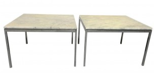 Paire-tables-basses-Florence-KNOLL