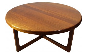 Table-basse-scandinave-en-teck-Niels-BACH
