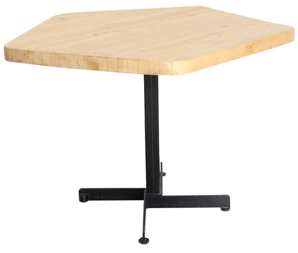 table-vintage-pentagonale-perriand