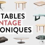 10 tables vintage iconiques