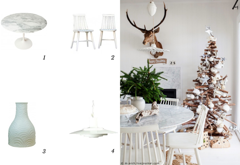 decoration-blanc-table-noel