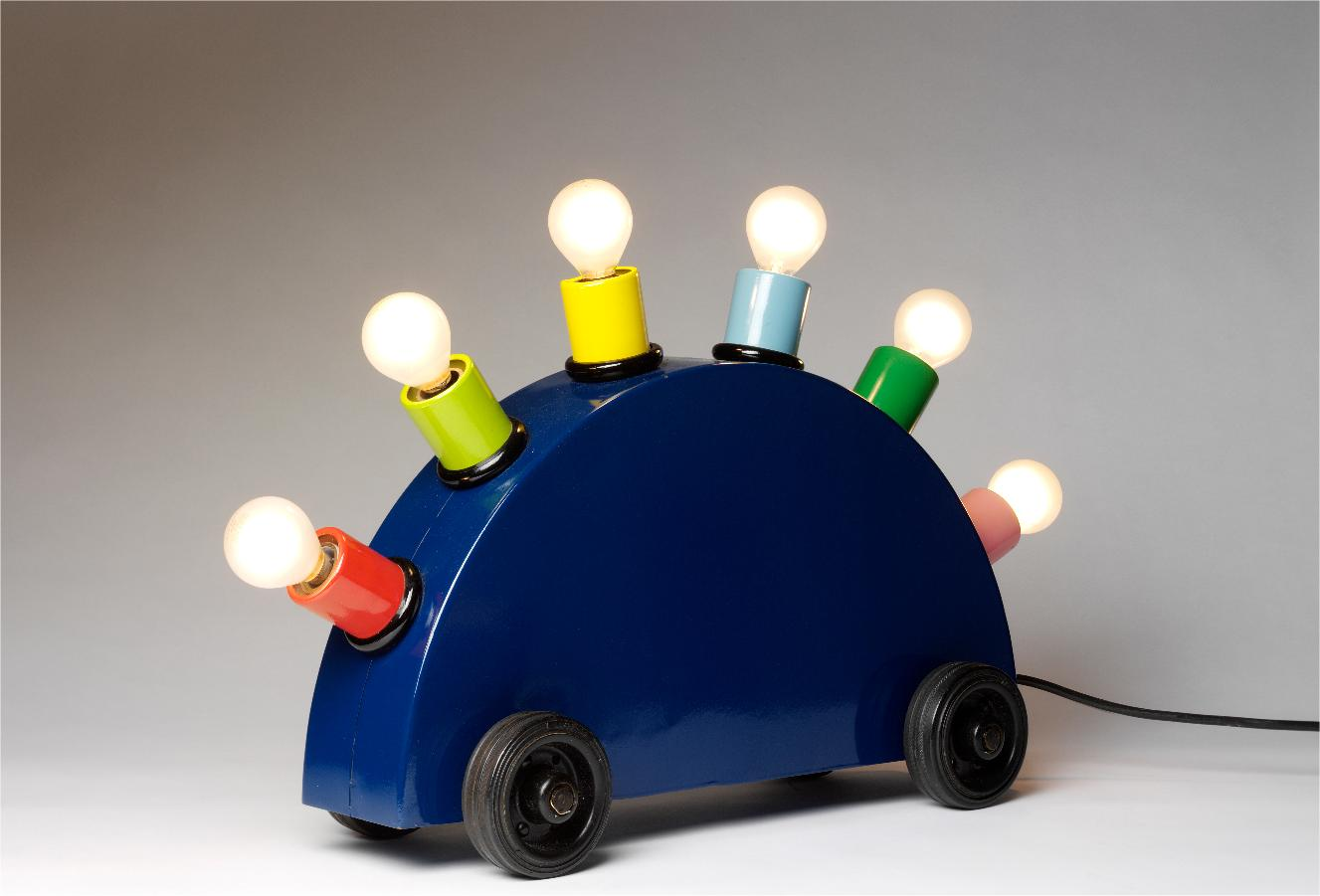 Lampe de table Super par Martine Bedin pour Memphis Milano, 1981