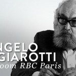 Angelo Mangiarotti au showroom RBC Paris