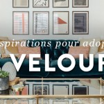 11 inspirations pour adopter le velours