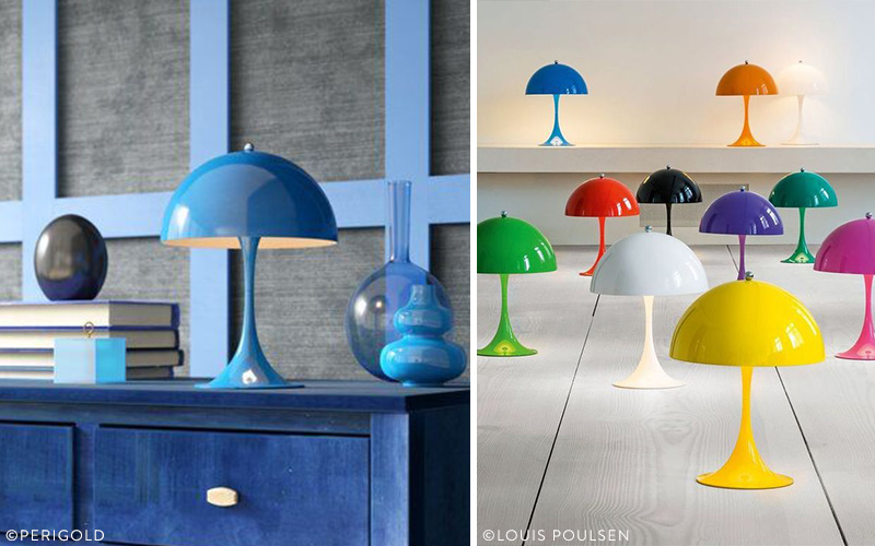 Lampes Space Age